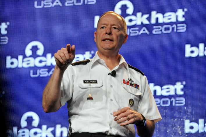 Link to Here are the video and slides from NSA director's Black Hat talk