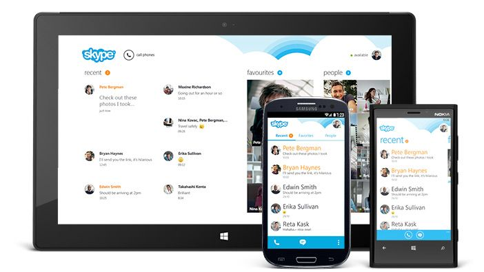 Skype on Android