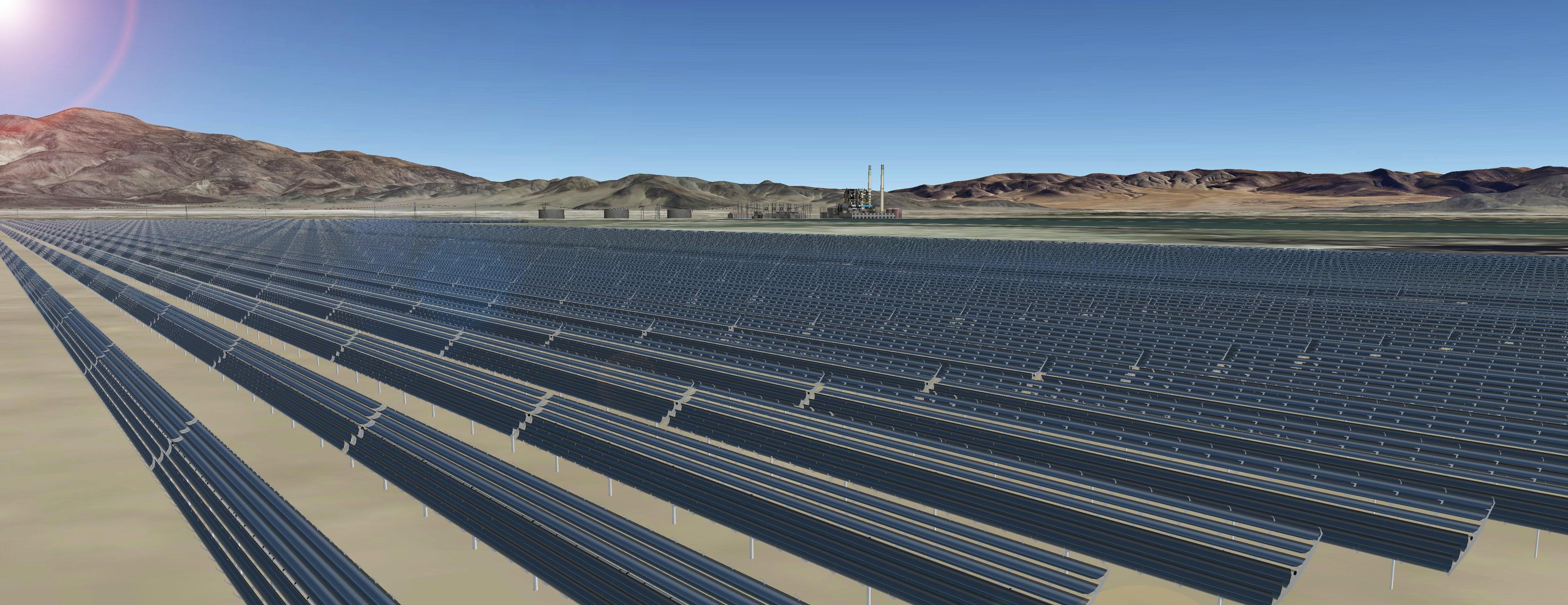 Apple solar farm in Reno