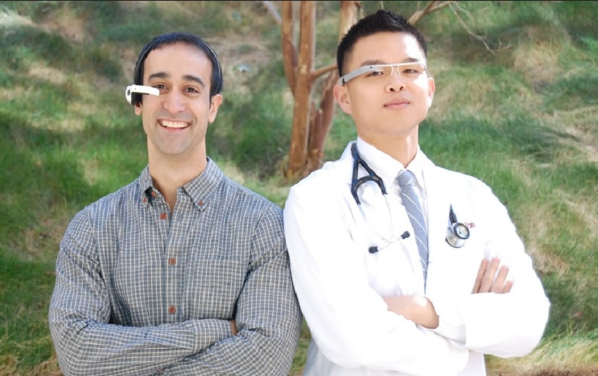 Augmedix founders, Ian Shakil and Pelu Tran, are building a Google Glass app for physicians.