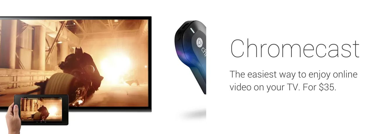 Chromecast Google Play
