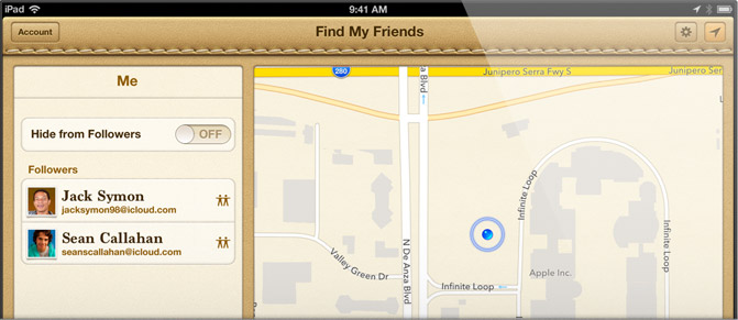Find My Friends Can Find You Too
