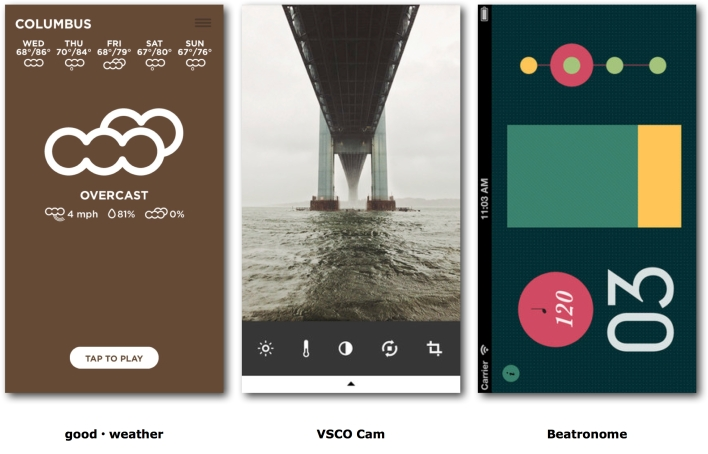 Examples of Flat Apps