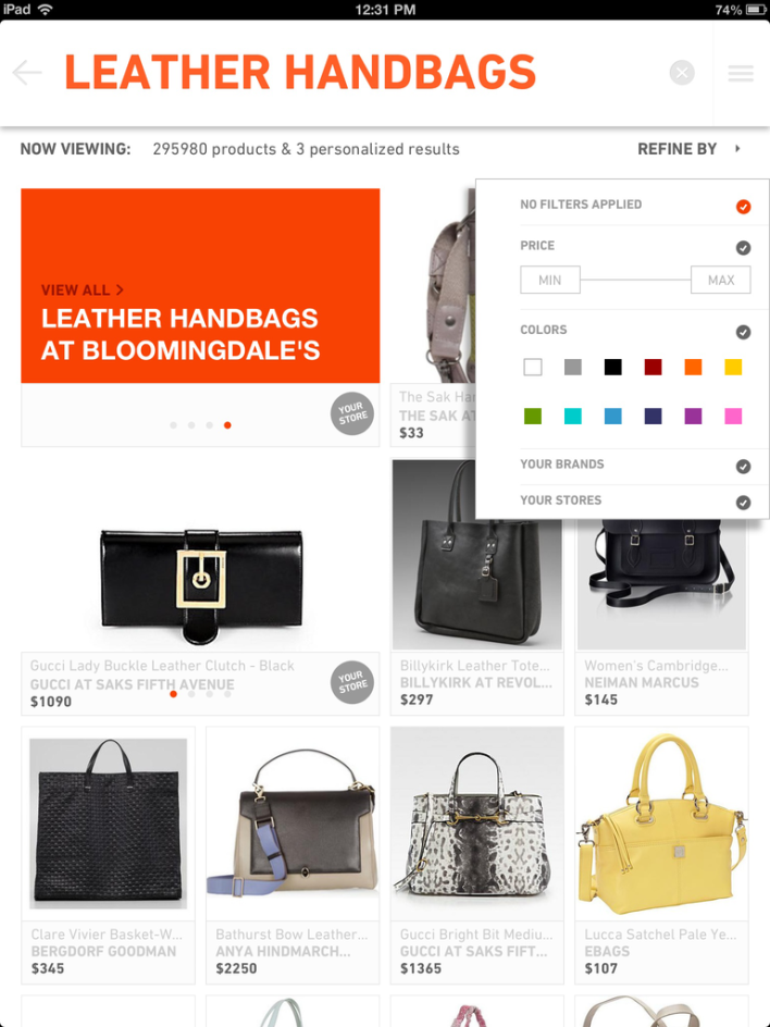 handbags leather The Find