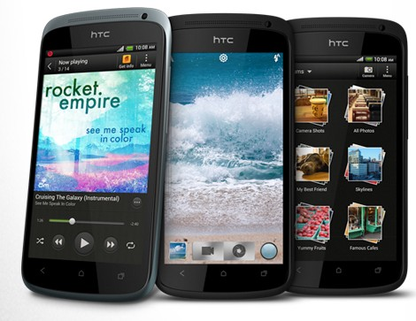 HTC One S trio