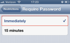 iPhoneRestrictionsPassword