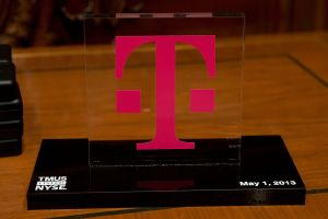 T-Mobile logo NYSE listing