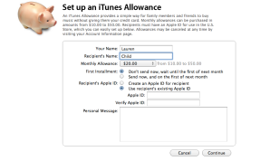iTunesAllowance