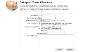 iTunesAllowance