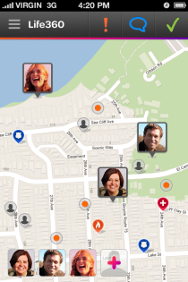 Life360 Family Map - iPhone