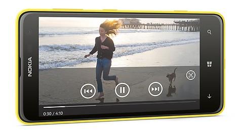 Lumia 625 video