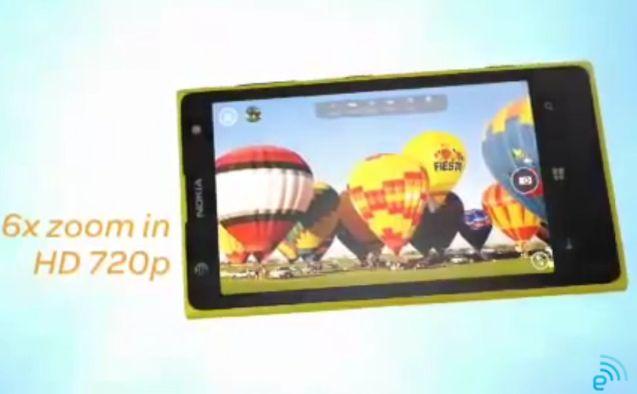 Lumia 1020 video