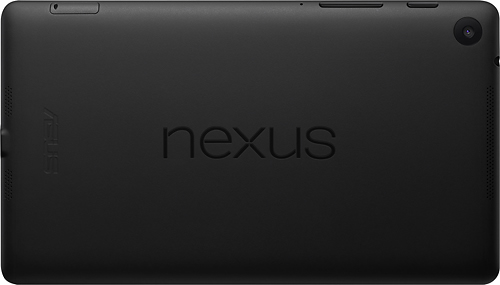 New Nexus 7 landscape