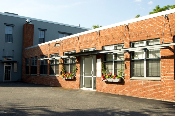 The Grommet's new offices in the Boston area. The company moved in June.