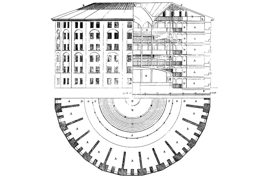 Jeremy Bentham's Panopticon