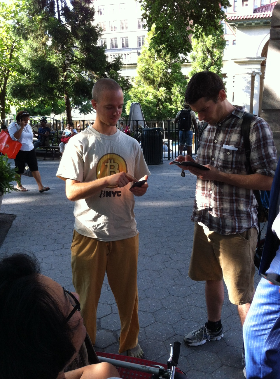 Bitcoin Union Square