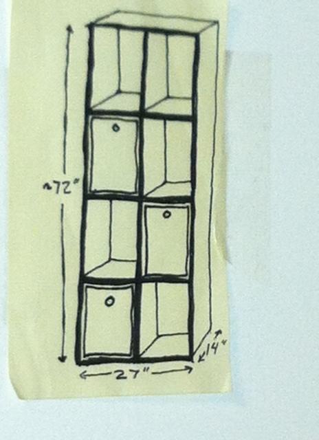 Cabinet blueprint