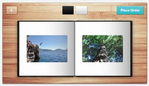 Mosaic photo book app