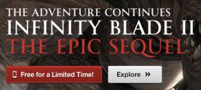 Infinity Blade II promo