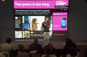 T-Mobile media event