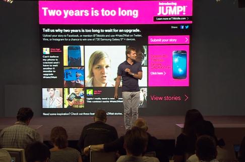 T-Mobile media event