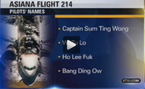 Asiana Crash racist screenshot