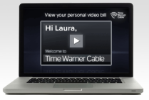 time warner cable video bill