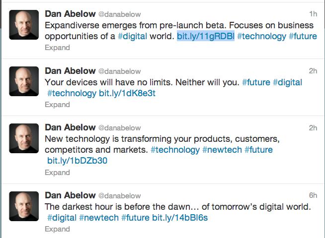 Dan Abelow Twitter screenshot