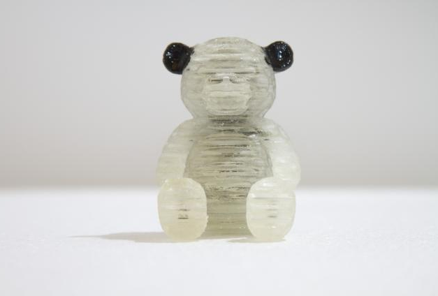 3D printed bear created with MIT's OpenFab