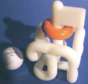 3D printed Tube Maze puzzle by Oskar van Deventer
