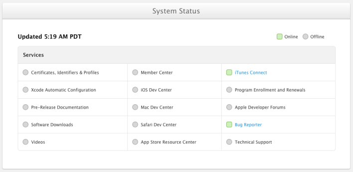 Dev Center update 2013