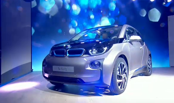BMW i3 launch