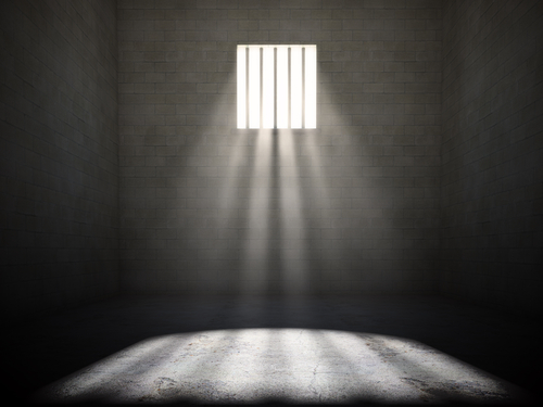 prison cell light