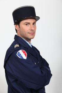French policeman, France