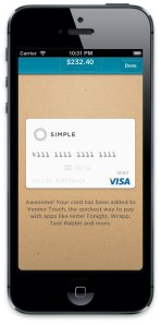 Simple Venmo Touch Screenshot