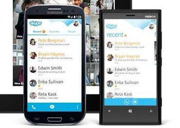 Skype for Android Metro
