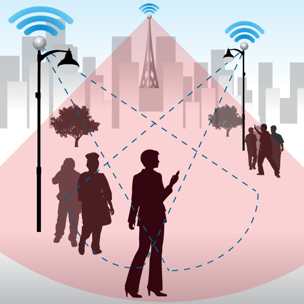 Small cells would add surgical capacity to the most high demand areas of the network (source: Gigaom / Rani Molla)