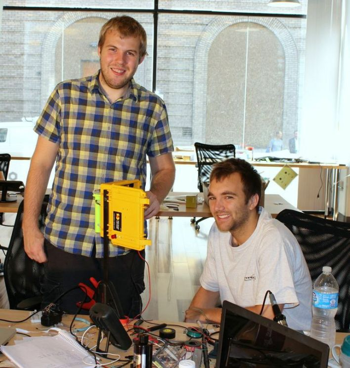 Subsidence Founders Alex Kubicek (L) and Bruan Dow