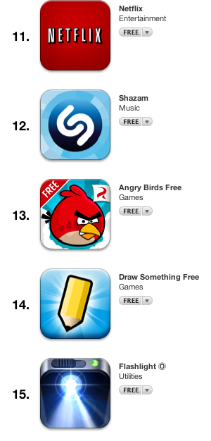 top free iphone apps 3