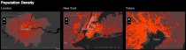 Urban Observatory population density