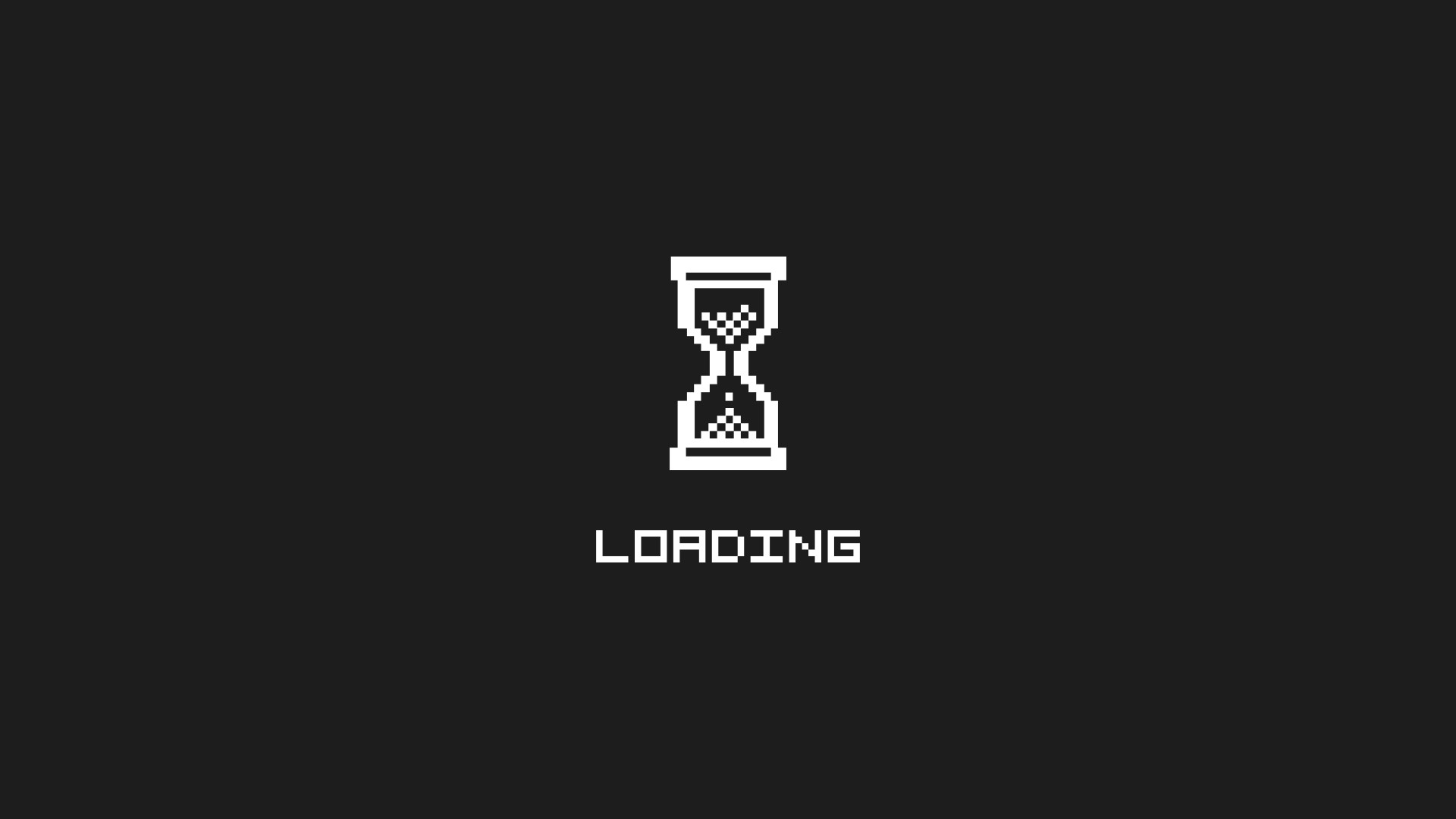 Waiting loading