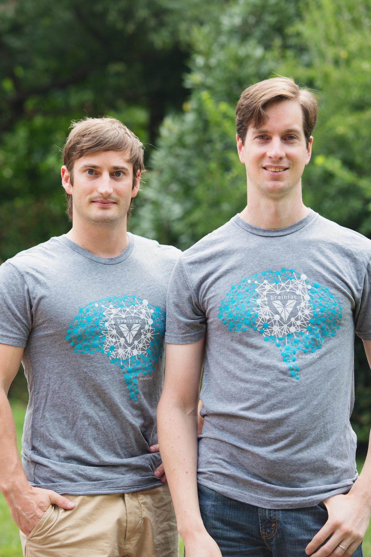 VividCortex founders Kyle Redinger (left) and Baron Schwartz.