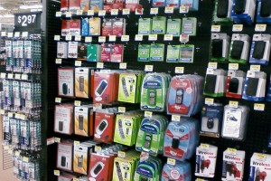 Prepaid phones at Wal-Mart