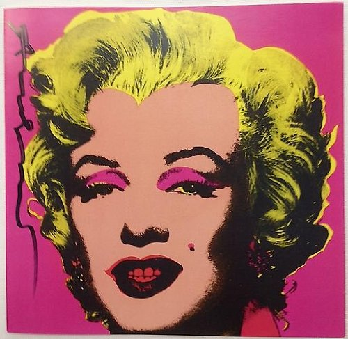 Marilyn Monroe - Castelli Graphics Invitation; Hand Signed, 1981, Andy Warhol