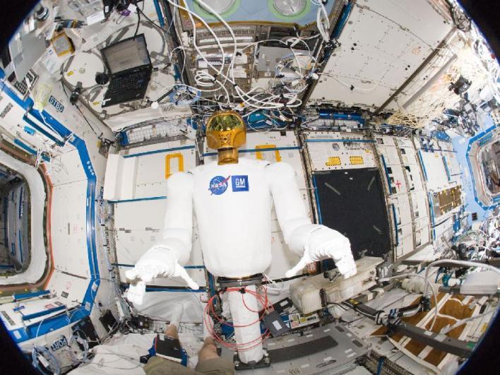NASA's Robonaut 2 on board the International Space Station