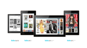 new Kobo e-reader tablet