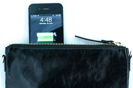 Hustle bag and iphone