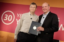 Bill Gates and Steve Ballmer