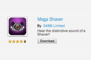 BlackBerry World Mega Shaver