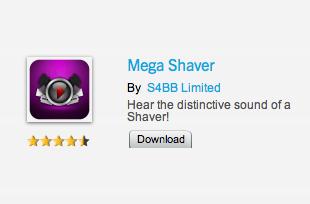 BlackBerry World Mega Shaver